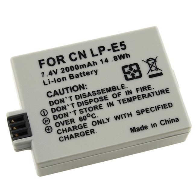 INSTEN Compatible Li-ion Battery for Canon LP-E5/ EOS Rebel XSi
