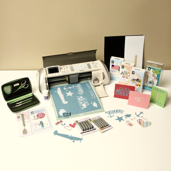 Cricut Expression Machine with 4 cartridges and Bonus Bundle Pack