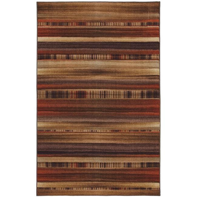 Arroyo Brown Multi Rug (5' x 8')