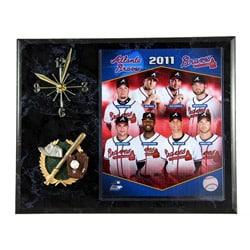 2011 Atlanta Braves Clock