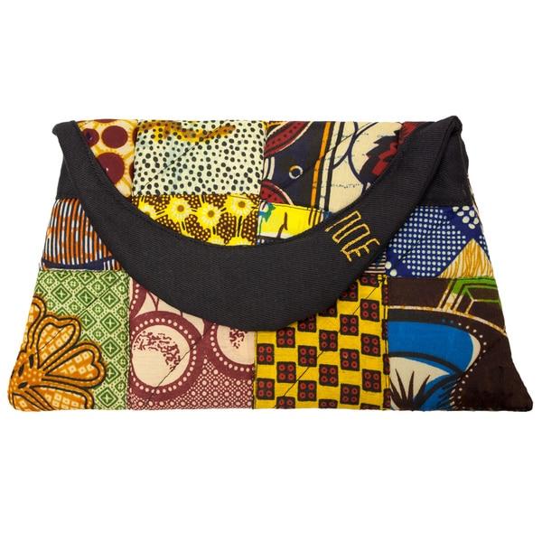 Fabric Patchwork Original Clutch Purse (Kenya)