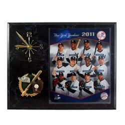 New York Yankees 2011 Collectible Photo Clock