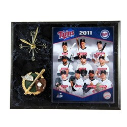 Minnesota Twins Clock