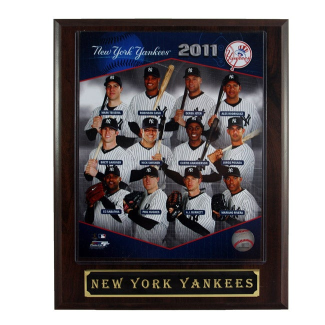 New York Yankees Plaque