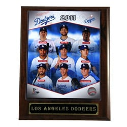 2011 LA Dodgers Plaque