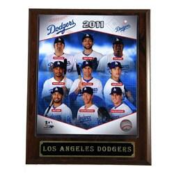 2011 LA Dodgers Plaque