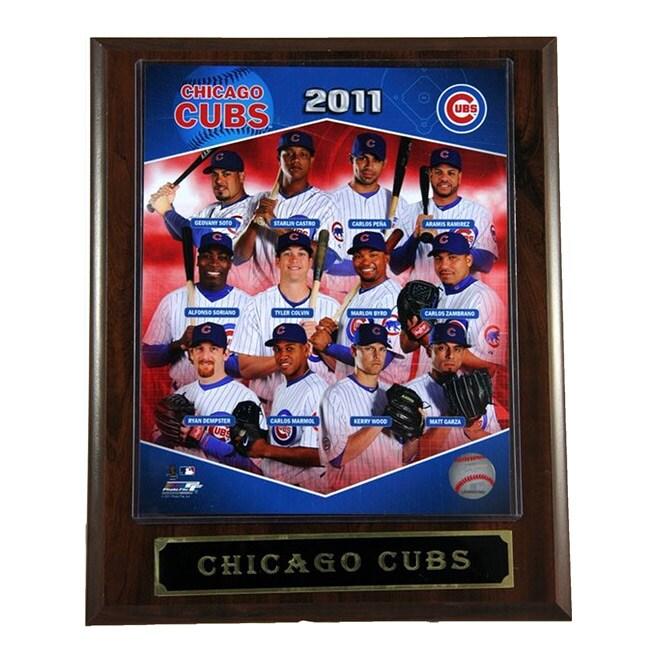 2011 Chicago Cubs Plaque