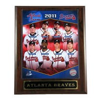 2011 Atlanta Braves Plaque