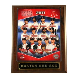 2011 Boston Red Sox Plaque