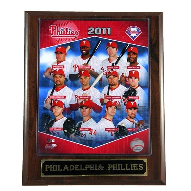 2011 Philadelphia Phillies Plaque