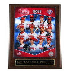 2011 Philadelphia Phillies Plaque