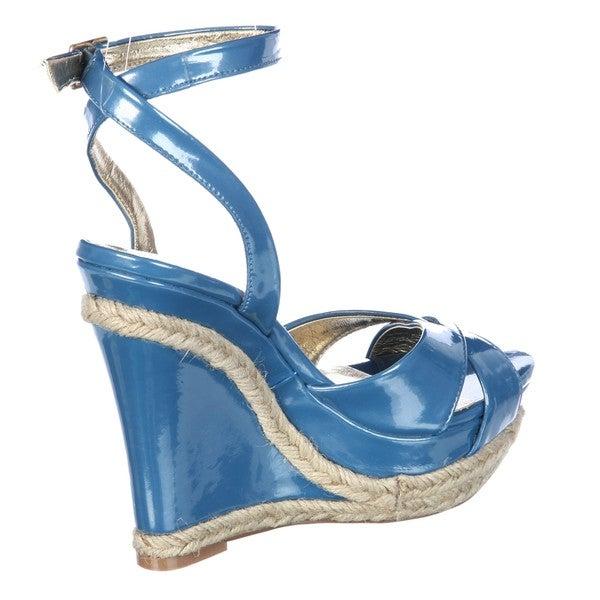 Charles by Charles David Women's 'Sangria' Patent Wedge Sandal FINAL SALE