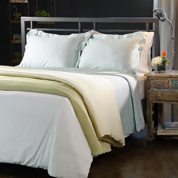 300 Thread Count Sateen Cotton 3-piece Duvet Set