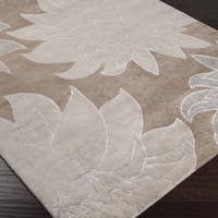 Hand-knotted Arbor Wool Area Rug (5' x 8') - 5' x 8'