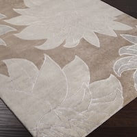 Hand-knotted Arbor Wool Area Rug - 5' x 8'
