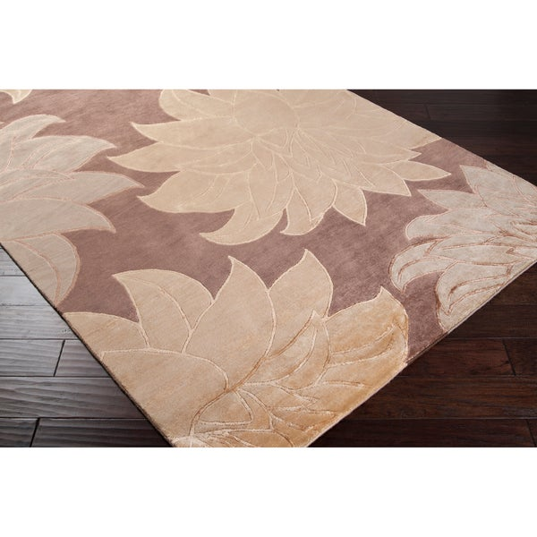 Hand-knotted Manor Wool Area Rug - 9' x 13'