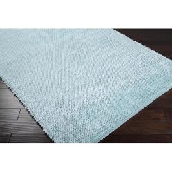Hand-woven Tulane Shag Rug (5' x 8') - Thumbnail 1