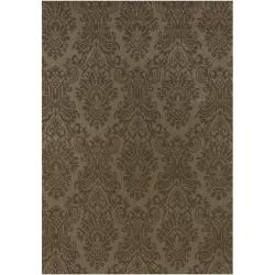 Hand-knotted Wheeler Wool Rug (8' Round)