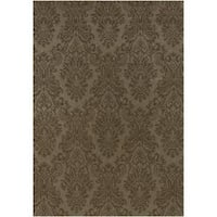 Hand-knotted Wheeler Wool Area Rug - 8' x 8'