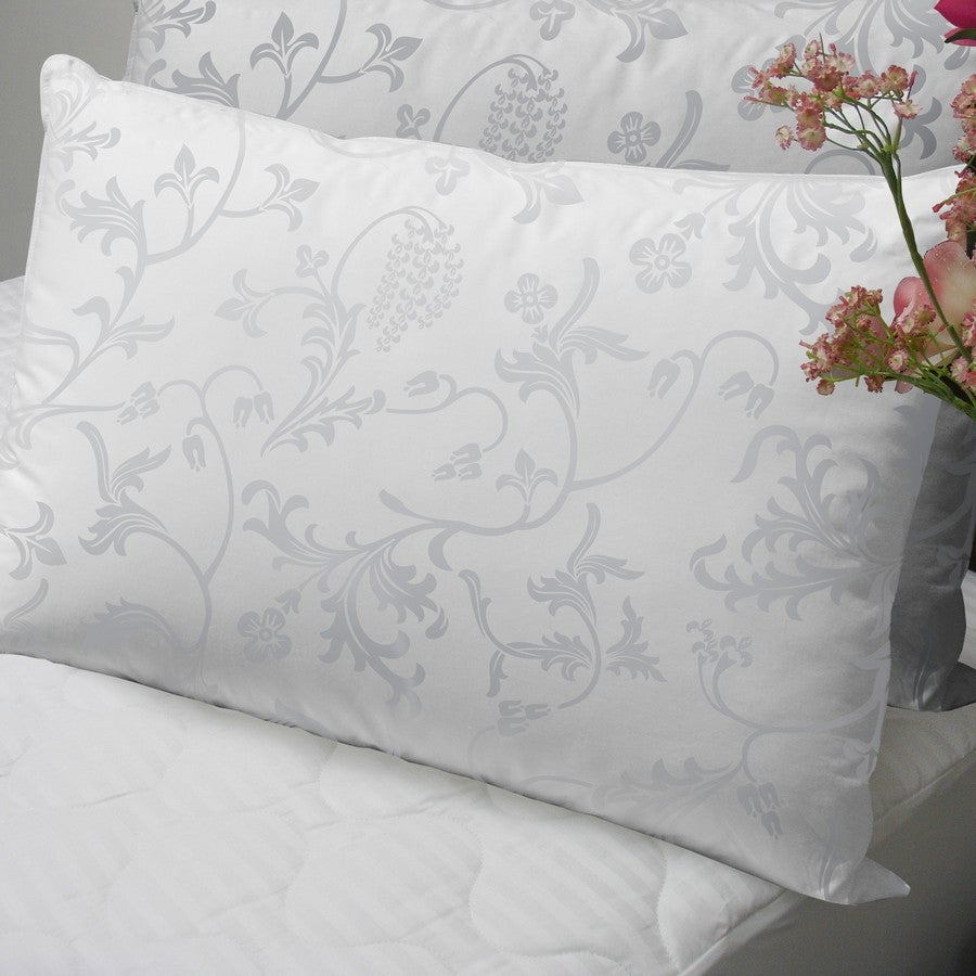 Floral 370 Thread Count Standard-size Down Alternative Pillows (Set of 2) - Thumbnail 0