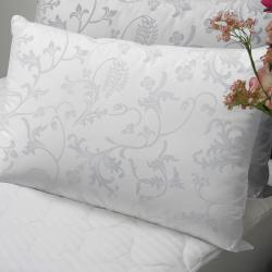 Floral 370 Thread Count Standard-size Down Alternative Pillows (Set of 2)