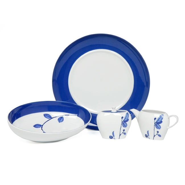 Mikasa True Blue 5 Piece Serving Set Free Shipping Today