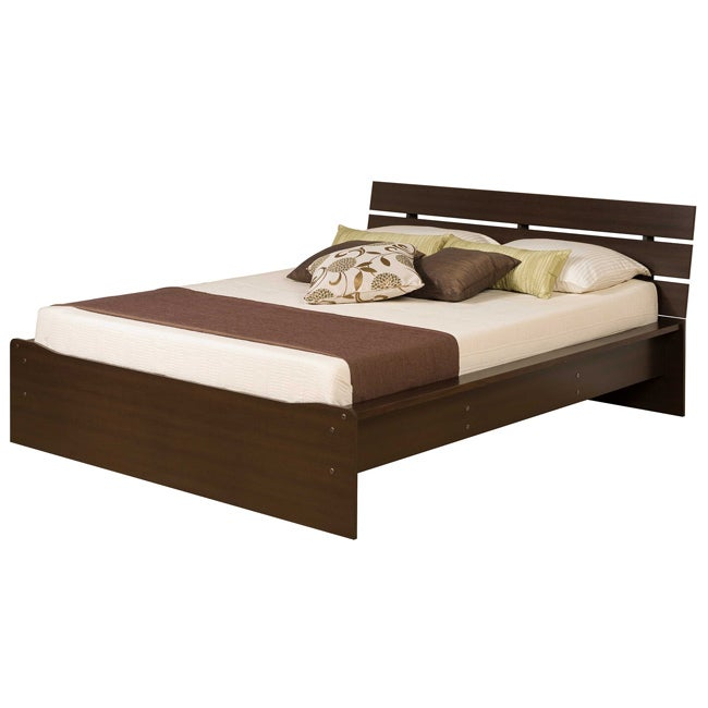 Escala Espresso Full Platform Bed - Thumbnail 0
