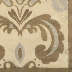 Hand-tufted Wales Wool Rug (8' x 11') - Thumbnail 1