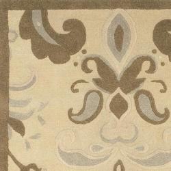 Hand-tufted Wales Wool Rug (8' x 11') - Thumbnail 2