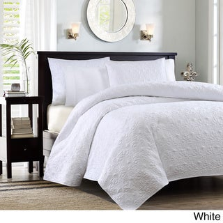 Madison Park Mansfield 3-piece Quilted Pattern Coverlet Mini Set
