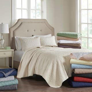 Madison Park Mansfield 3-piece Quilted Pattern Coverlet Mini Set|https://ak1.ostkcdn.com/images/products/5982782/P13673545.jpg?impolicy=medium