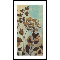 Silvia Vassileva 'Enchanted Garden II' Wood Framed Art Print