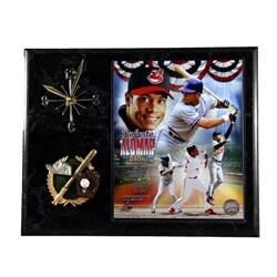 Cleveland Indians Roberto Alomar Clock