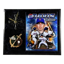 New York Mets Ike Davis Clock