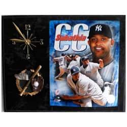 Yankees CC Sabathia Clock Plaque|https://ak1.ostkcdn.com/images/products/5982954/Yankees-CC-Sabathia-Clock-Plaque-P13673641a.jpg?impolicy=medium