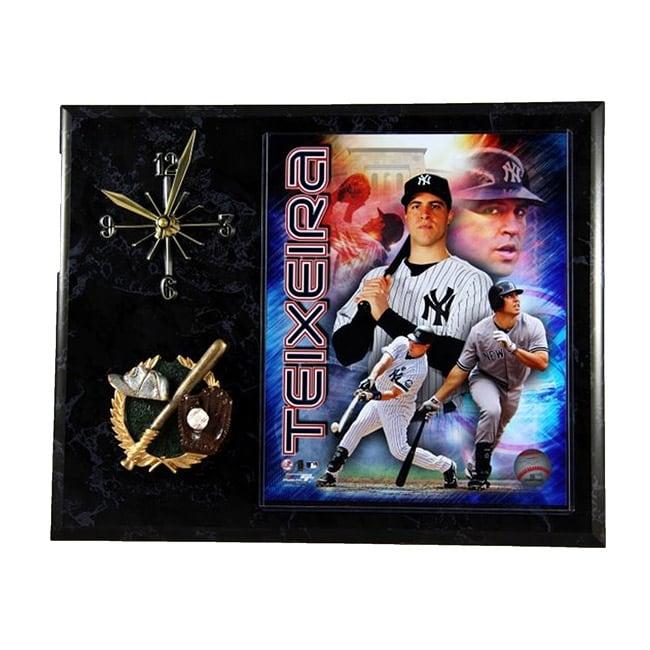 New York Yankees Mark Teixeira Clock