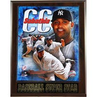 New York Yankees CC Sabathia Plaque