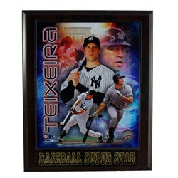New York Yankees Mark Teixeira Plaque