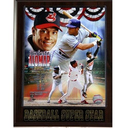 Cleveland Indians Roberto Alomar Plaque
