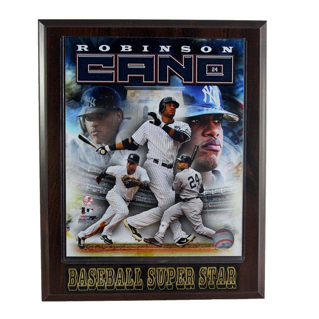 New York Yankees Robinson Cano Plaque