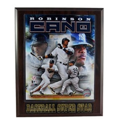 New York Yankees Robinson Cano Plaque - Thumbnail 0