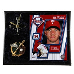 Philadelphia Phillies Roy Halladay Clock