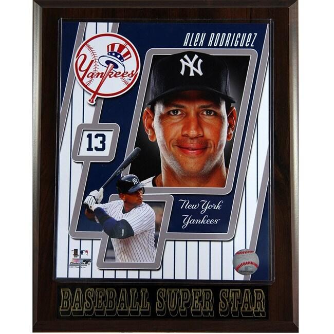 New York Yankees Alex Rodriguez Plaque
