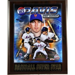 New York Mets Ike Davis Plaque
