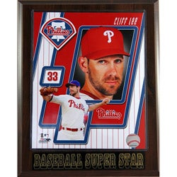 Philadelphia Phillies Cliff Lee Plaque