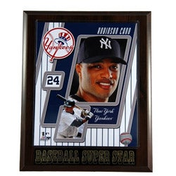 New York Yankees Robinson Cano #24 Plaque