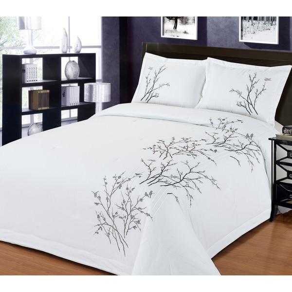Lightning Branch 3-piece Comforter Set