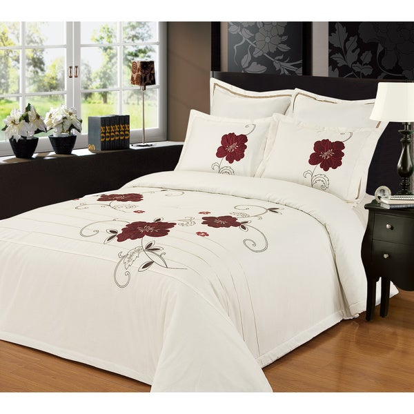 Poppy Vine 3-piece Comforter Set