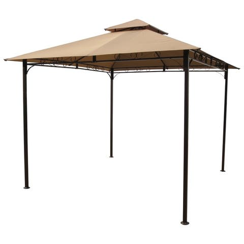 International Caravan St. Kitts 10-Foot Vented Gazebo