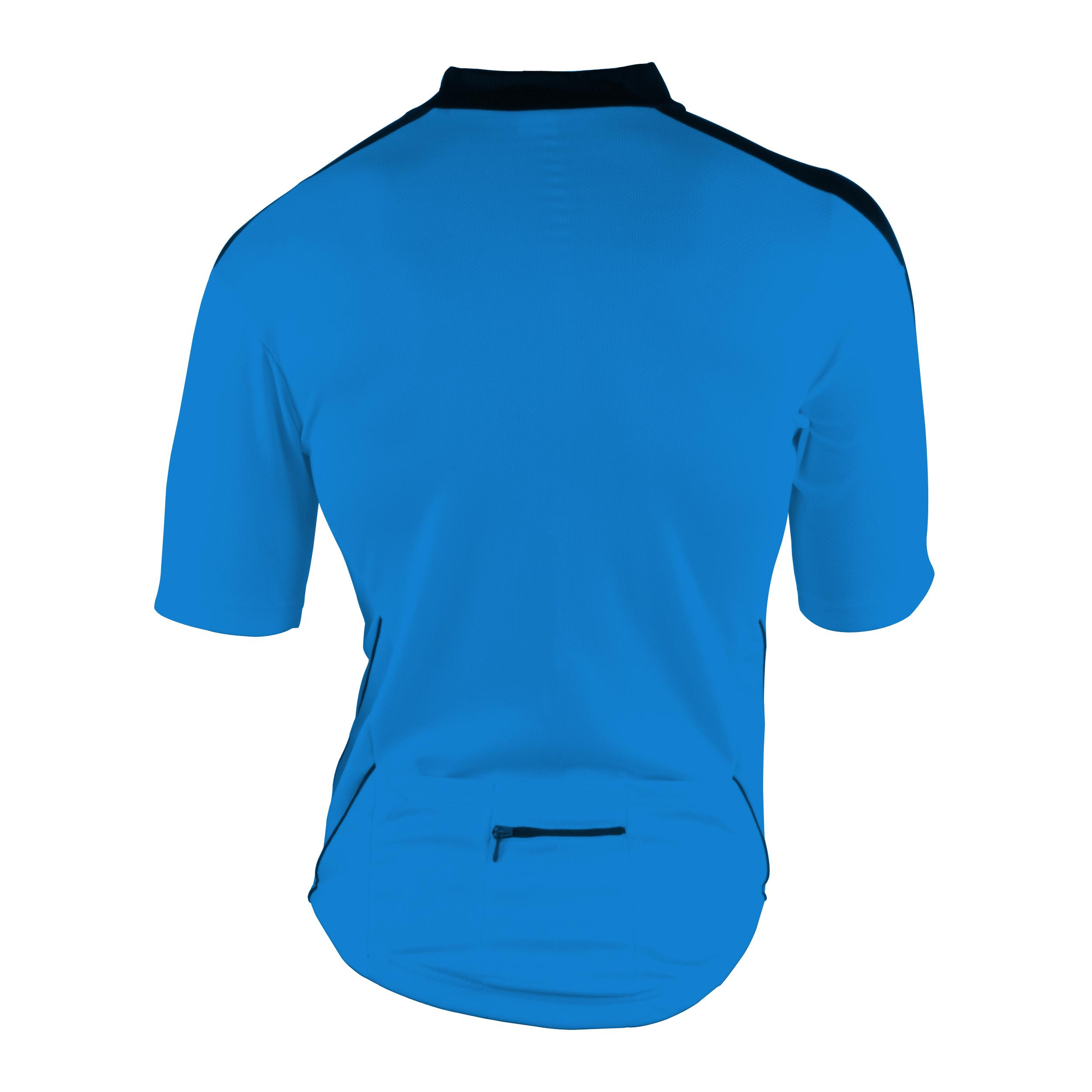 Cycle Force Men's M-Wave Blue Bicycle Jersey - Thumbnail 1